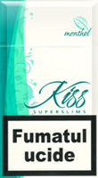 Kiss Super Slims Menthol 100s